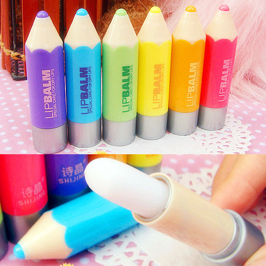1pc women candy colors pencil lipstick clear lip cream lip makeup tool random color - Buy Candy By Color