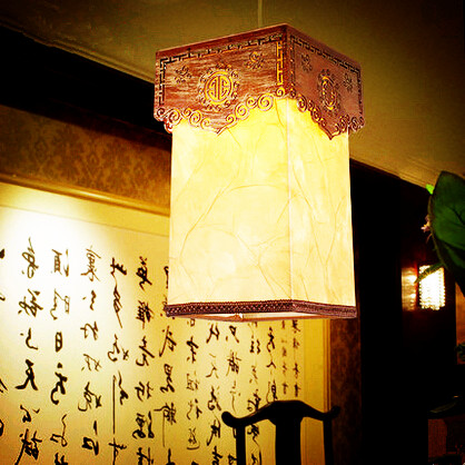 Chinese creative through-carved wood art Pendant Lights Traditional retro yellow E27 lamp for gate&corridor&porch&stairs MYR022 tradition chinese style carved wood art pendant lights retro countryside house lamp for bar