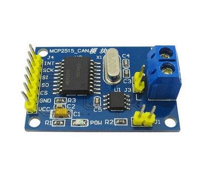 MCP2515 CAN Bus Module TJA1050 receiver SPI For 51 MCU ARM controller