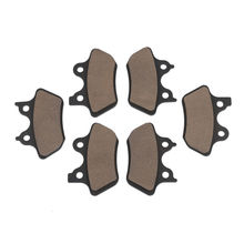 Front + Rear Brake Pads For Harley Touring Electra Street Glide Dyna Sportster XL 1200s FXDX Dyna Wide Glide FLHT Motorcycle dyna