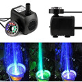 New Submersible Water Pump with 12 LED Light for Fountain Pool Garden Pond Fish