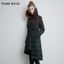 Punk Rave Winter Retro Finishing Down Coat Female PY-157