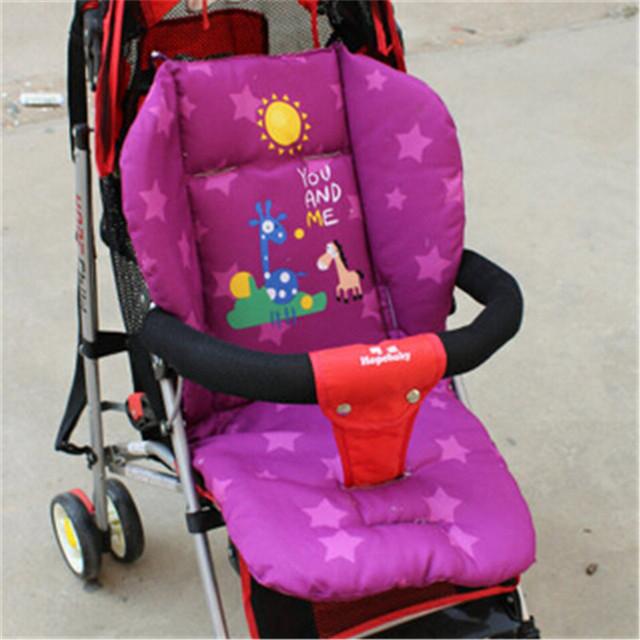 Cochecito liner bebé Cochecito cochecito pad Cojín Grueso Pad Pram Relleno Liner Cojín Del Asiento de Coche de Bebé asiento de Coche