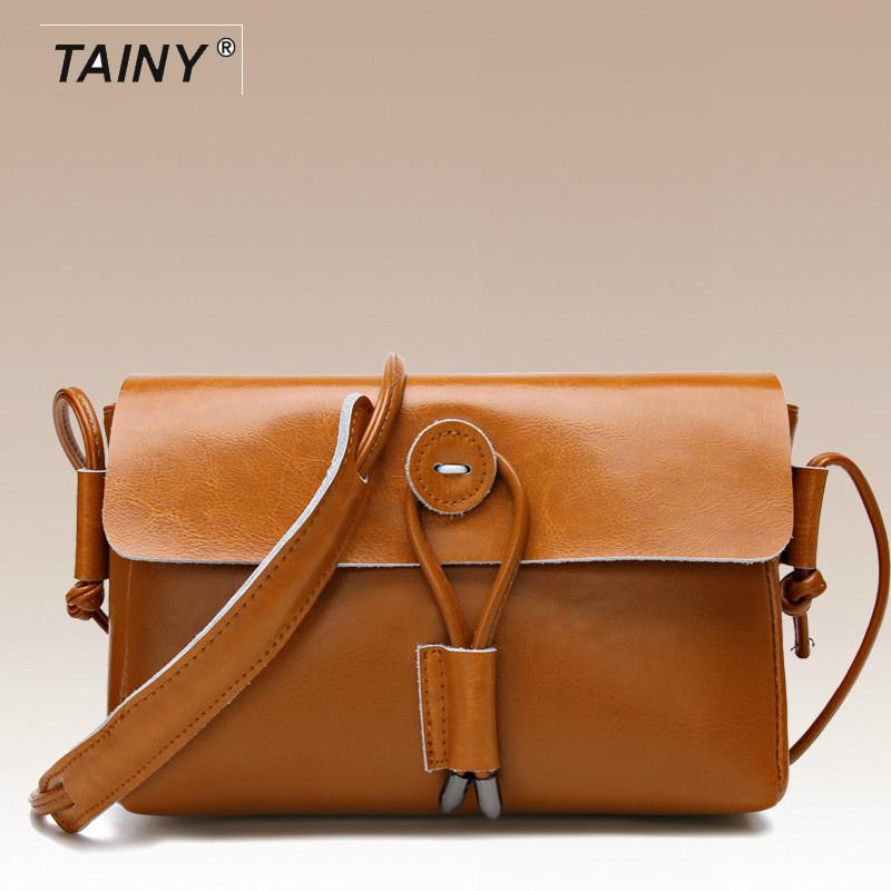 2017 New Arrival Tainy Genuine Leather Cow Leather Lady Women Shoulder & Crossbody Bags T6570 цены