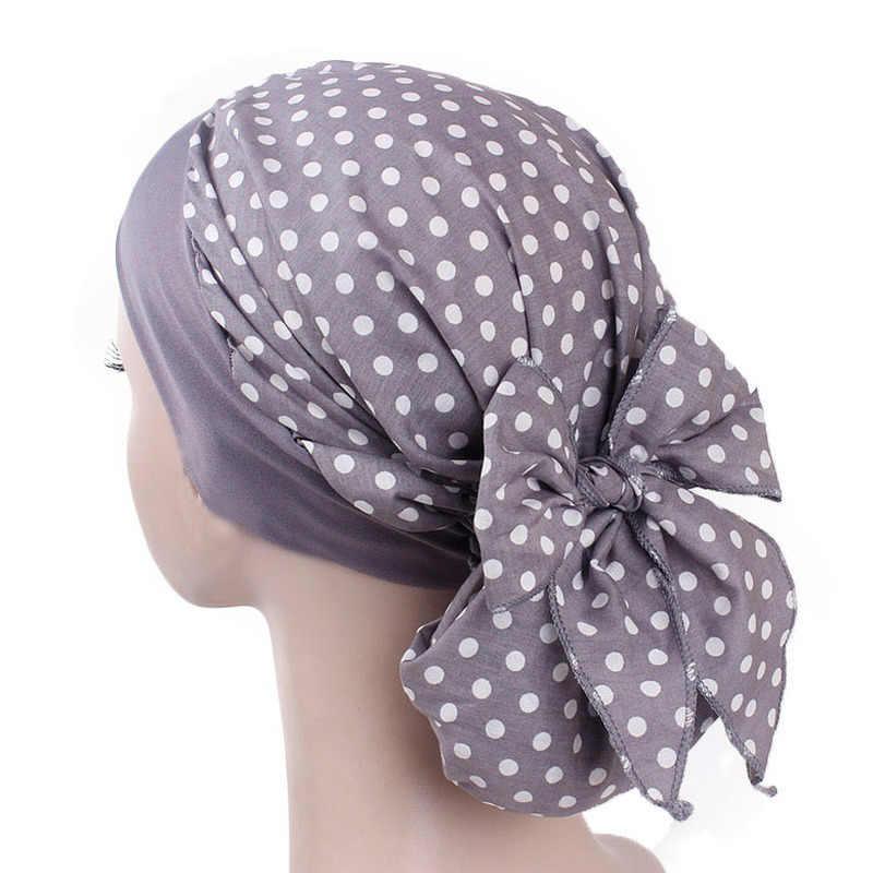 Банданы с принтом женские летние тянущиеся широкие повязки повязка на голову из хлопка с цветочным принтом кепки Винтаж Boho тюрбан