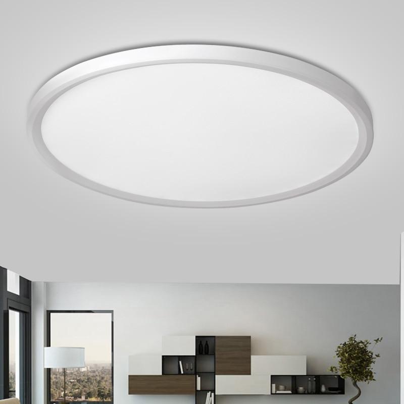 Minimumism Nordic Modern LED Ceiling Light Living Room Bedroom Study Office Shop Surface Mount Flush Panel Ceiling lamp