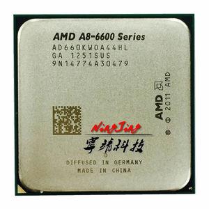 AMD A8-Series A8 6600K A8 6600 3.9GHz Quad-Core CPU Processor AD660KWOA44HL Socket FM2