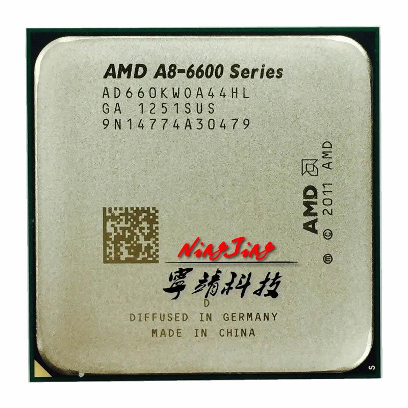 Четырехъядерный процессор AMD A8-Series A8 6600K A8 6600 3,9 ГГц, процессор AD660KWOA44HL Socket FM2