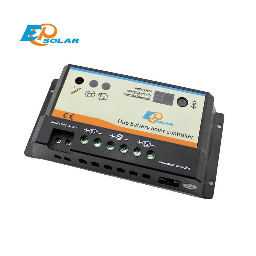 EPSOLAR EPIPDB-COM 20A 12V 24V EPEVER Dual Duo Two Battery Solar Charge Controller RegulatorsEPSOLAR EPIPDB-COM 20A 12V 24V EPEVER Dual Duo Two Battery Solar Charge Controller Regulators