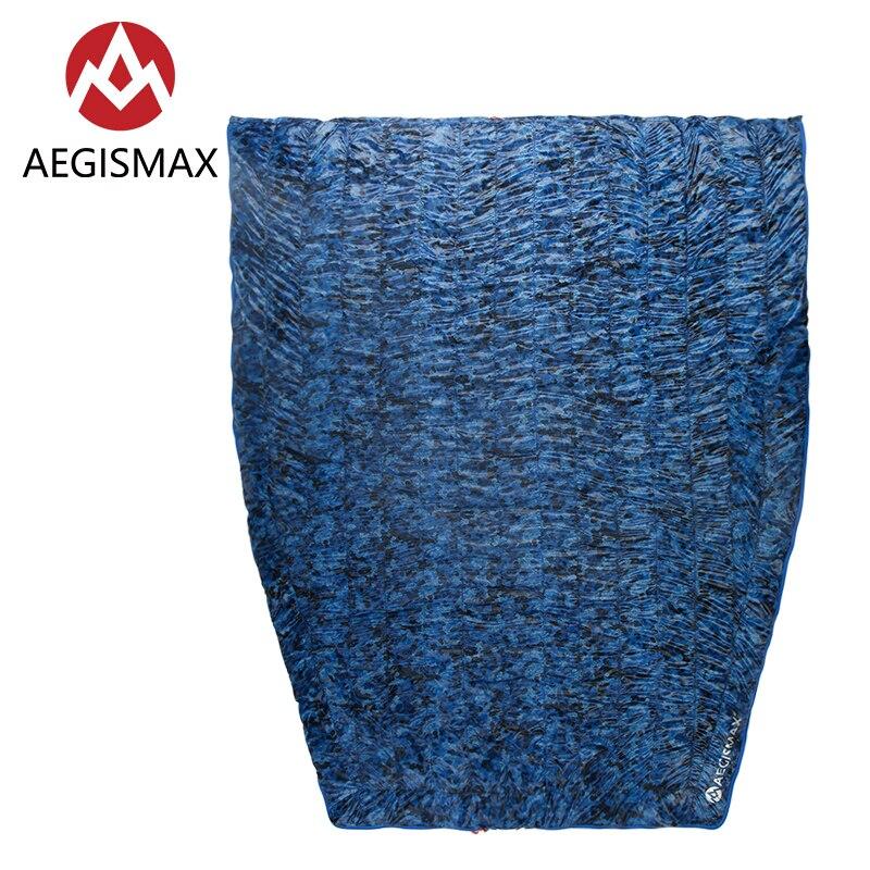 Aegismax 95 White Duck Down Sleeping Bag Ultralight Splicing Envelope Quilt 700FP Micro Series Splicable Envelope