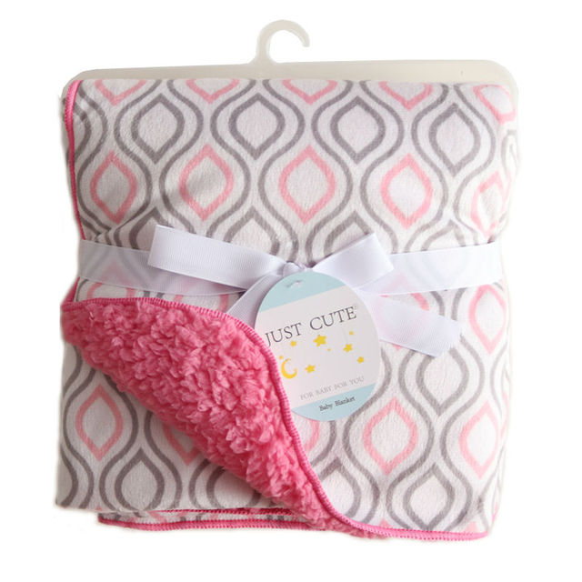 Baby Double Layer Coral Fleece Blankets