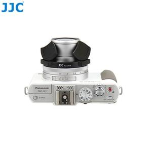 Image 5 - JJC Fotocamera Auto Copriobiettivo per PANASONIC DMC LX7/Leica D Lux6 Nero Argento Self Conservando Automatico di Protezione