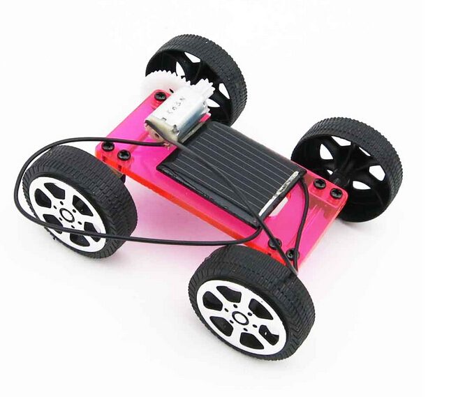 physical science experiments diy solar car model kids science toy educational equipment diy car model