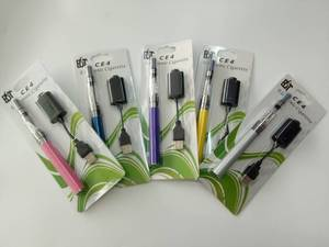 Image 3 - 10 pièces/lot Cigarette électronique Ego CE4 Blister Kit unique avec CE4 Clearomizer 1100mah EGO T batterie vape elektronik sigara