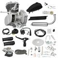 80CC Motore A Benzina Per Il Motociclo Della Bicicletta, gas a Benzina Motore Kit Completo Con Il Serbatoio Del Carburante E della Valvola A Farfalla 2-Stroke Motore A Benzina Set