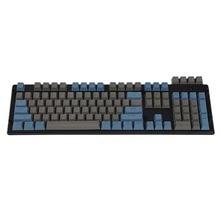 Top Printed Double Shot PBT Shine Through Translucent 108 Key OEM Profile Keyset For MX Switches Mechanical Keyboard