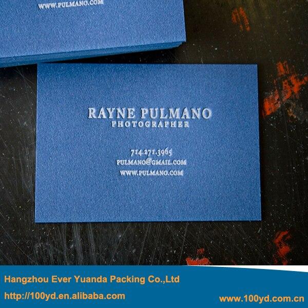 Unique new beauty design blue color business card embossed printing unique new beauty design blue color business card embossed printing high quality art paper visit colourmoves