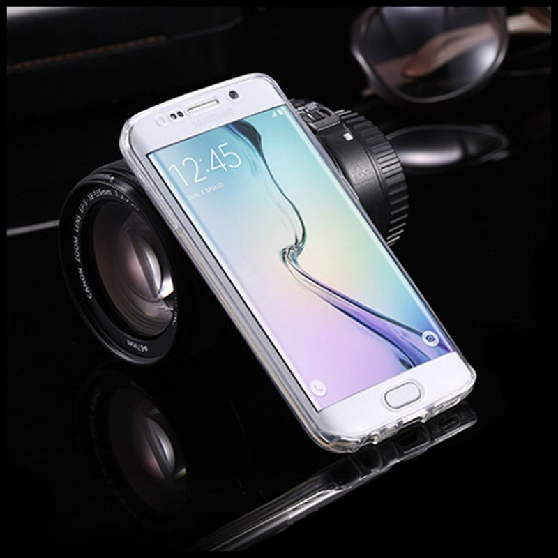 S8 S9 Plus Case Front + Back Cover Ամբողջ մարմնի - Բջջային հեռախոսի պարագաներ և պահեստամասեր - Լուսանկար 6