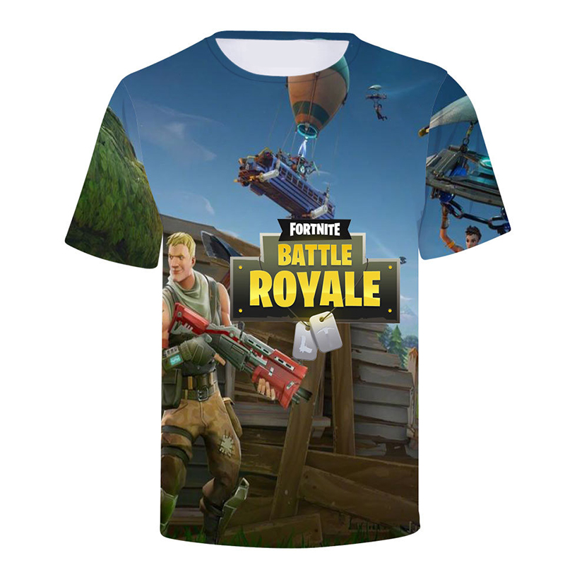HipHop Fortnite t shirt Men Women Summer 3D T-shirt Fortnite Battle Royale Game Streetwear Hip Hop Clothes Men Skateboard Tees