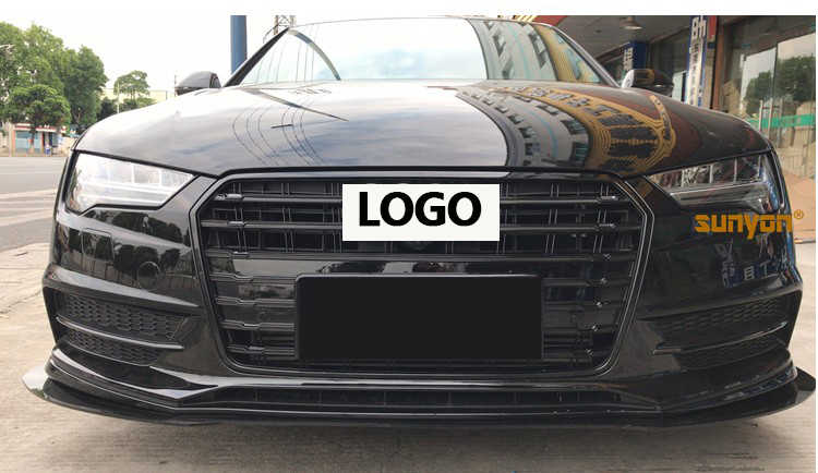 Detail Feedback Questions About Grill For Audi A7 Abs Black Painted
