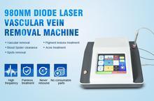 Эффективная машина лазера сосудистого удаления / CE красотки обработки угорь удаления вены кровеносн