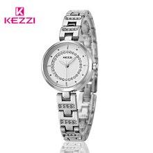 KEZZI Model Girls Costume Watch Relojes Stainless Metal Quartz Watches Relojes De Marca Girls Crystal Wristwatches