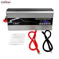 TBE 3500W Pure Sine Wave DC 12V To 220V/230V Power Inverter Car USB Charger For Solar/wind/gas Power Generation Converter
