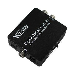 Image 4 - Conversor coaxial/óptico toslink spdif para estéreo 3.5mm jack ou l/r rca áudio suporte dts, pcm