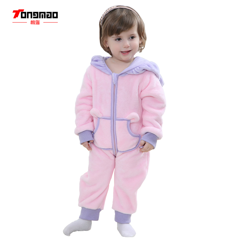 TONGMAO Autumn and Winter Newborn Baby Clothes Romper Baby Boy Clothes and baby girl clothes infantil Jumpsuit Baby Clothing autumn baby rompers brand ropa bebe autumn newborn babies infantial 0 12 m baby girls boy clothes jumpsuit romper baby clothing