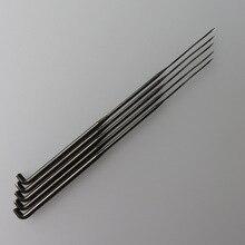 500 قطعة 40 جرام دوامة مثلث التلبيد الإبر الملتوية مثلث الإبر الألمانية الجودة
