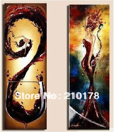 100 Hand Painted Oil Paintings Huge Modern Abstract Painting On Canvas House Decoration Dy 148 In Calligraphy From Home Garden