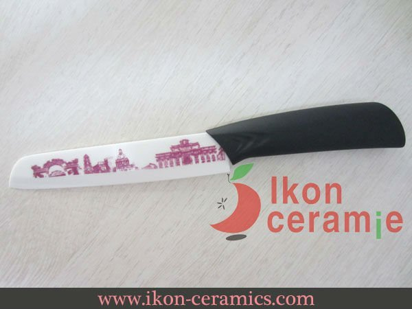 "Free Shipping! High Quality Zirconia New 100% 6"" AJX Japanese Ceramic Chef Knife(AJ-6002W-CB-DP)"