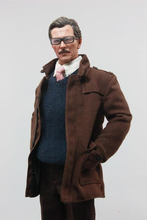 1/6 Gotham City Police Commissioner Gordon Coat Suit and Shoes for 12inch Action Figure
