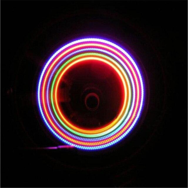 2 x fiets wiel flesdop spoke neon 5 led verlichting lamp 32 veranderingen