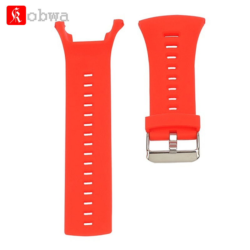 Silicone Replacement Watch Wrist Strap Band For SUUNTO Ambit1 ambit 2 Ambit3 watch band Bracelet Smart Wrist Bands accessory soft silicone watch band rubber watch strap waterproof watchband for suunto ambit 1 2 3 watch