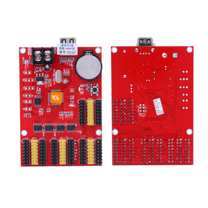 Image 3 - Металлический светодиодный дисплей, цифровые часы, светодиодная световая панель, светодиодная вывеска, приборная панель для вывески, светодиодный дисплей, карта управления u63