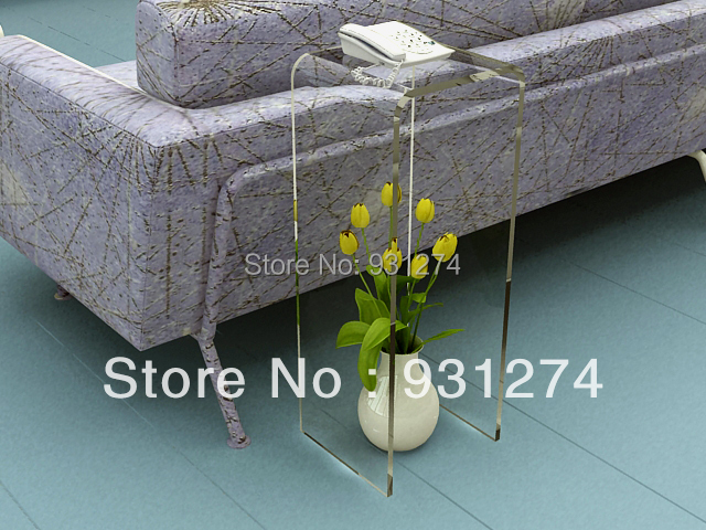 Telephone Console Table aliexpress : buy one lux waterfall u shaped acrylic console