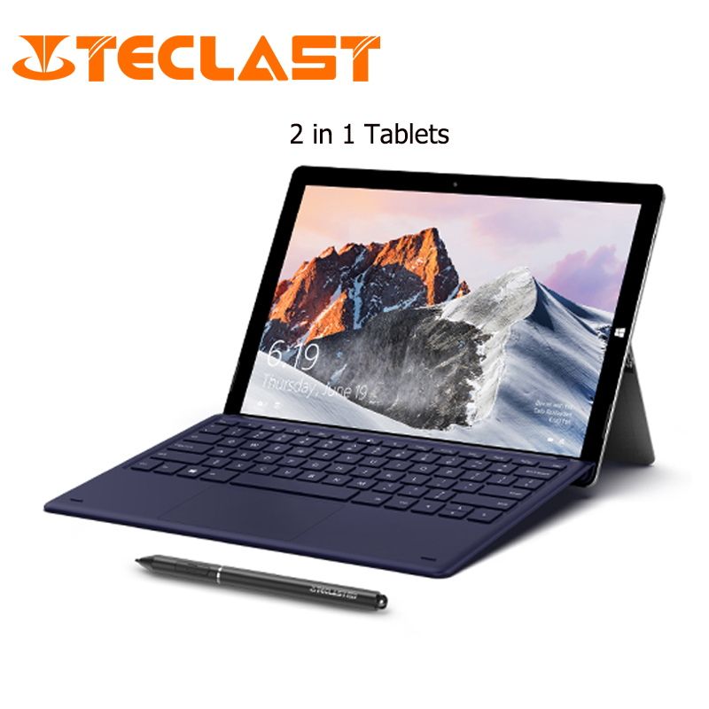 Teclast Tablet PC Dual-Camera HDMI Windows-10 Home 256GB-ROM FHD 8GB 2-In-1 IPS PRO 1920--2880
