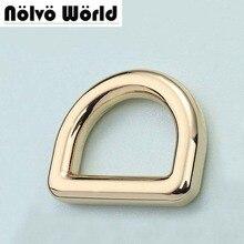 5.0 мм толщина 20 мм (3/4 дюйма внутри) ziny сплав золота металлические кольца D DIY сумки ремень оборудования интернет-оптовый магазин дешевые
