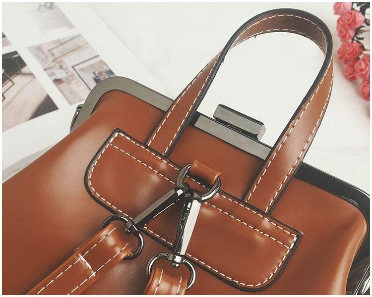 HTB1OFnRnm I8KJjy0Foq6yFnVXan LEFTSIDE Brand 2018 Retro Hasp Back Pack Bags PU Leather Backpack Women School Bags For Teenagers Girls Luxury Small Backpacks