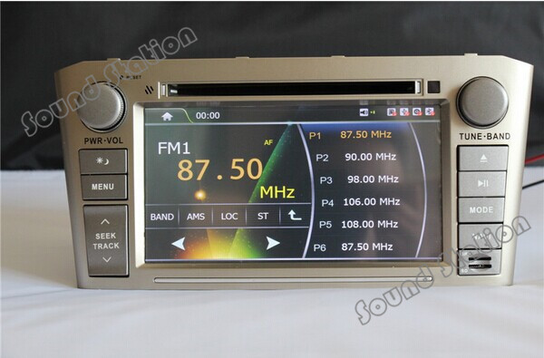 buy for toyota avensis 2003 2008 touch screen car dvd gps navigation multimedia. Black Bedroom Furniture Sets. Home Design Ideas