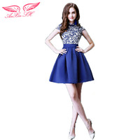 Blue Blue And White Porcelain Dinner Bride And Bridesmaid Dress Will Stage 9243 New Winter