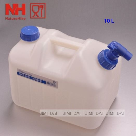 10 L outdoor drinking water containers car use water containers