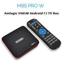 Mecool M8S Pro W Android 7.1 TV Box Amlogic S905W Quad Core 2GB 16GB Smart Mini PC 4K 3D Media Player 2.4G Wifi Can OTA Update
