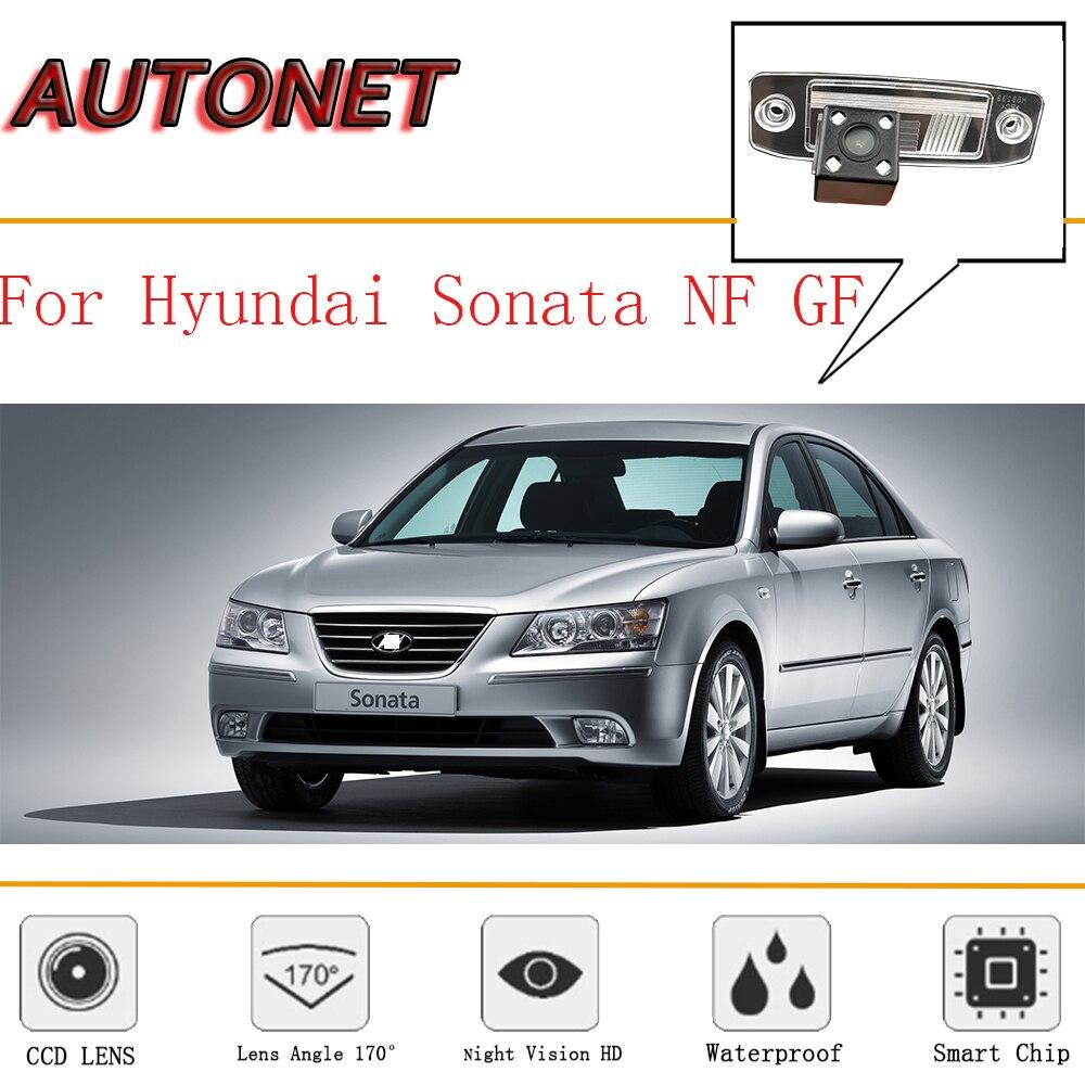 AUTONET Rear View camera For Hyundai Sonata NF GF Sonata Transform/CCD/Night Vision/Backup Camera/license plate camera|Vehicle Camera| |  - title=