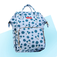 Printed Diaper Bag High Quality Waterproof Changing Bags Baby Nappy Large Capacity Maternity New Backpack