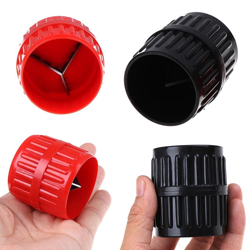 1x Plastic Metal Tube Pipe Deburring Burr Remover Reamer Cleaning Deburrer Tool