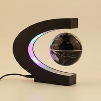 New Arrival 1Pcs Novelty Decoration Magnetic Levitation Floating Teach Education Globe World Map Decoration Santa Gift