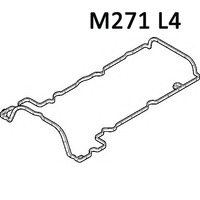 Mercedes Engine Rocker Valve Cover Gasket C250 SLK250 271 016 12 21 2710161221 W204 W212