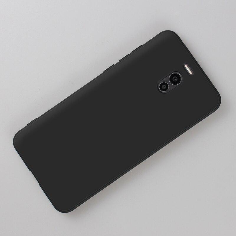 Black Phone Case For Meizu M5S M5C Note 16th 16 Plus 16X X8 X 8 Note 8 M6 M5 Note Shockproof Capa Matte Cover For Meizu M6 M5